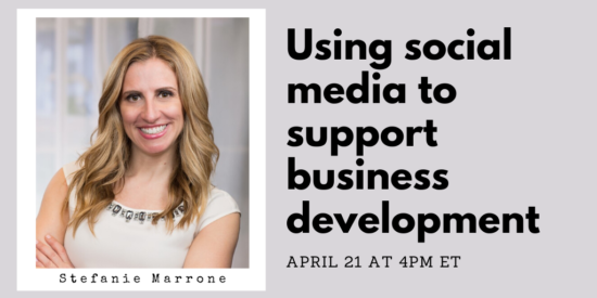 Using Social Media to Support Business Development